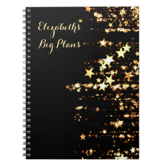 Stars Personalized Notebooks