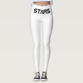 Stars pink star leggings