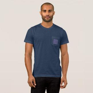Stars Pocket Flag Back Men's T-Shirt