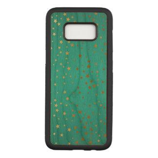 Stars Samsung Galaxy S8 Slim Cherry Wood Case