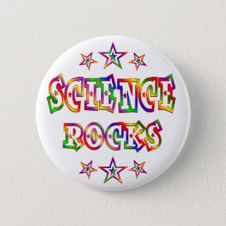 Stars Science Rocks 6 Cm Round Badge