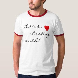 stars Shooting South hearts T-Shirt
