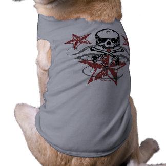 Stars Skull Pet Clothing