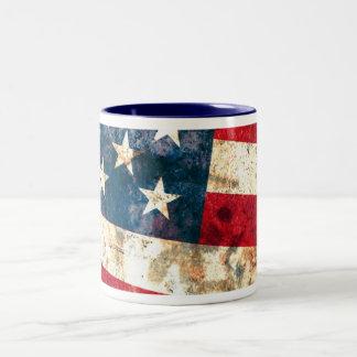 Stars & Stripes #1 - 11 oz Two-Tone Coffee Mug