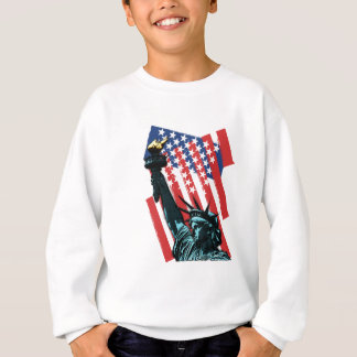 Stars, stripes and liberty sweatshirt