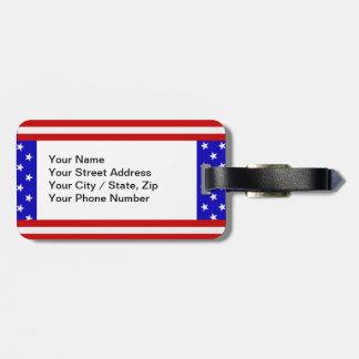 Stars & Stripes (customizable) Luggage Tag