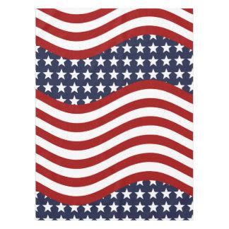 STARS & STRIPES FOREVER! (American flag design) ~ Tablecloth