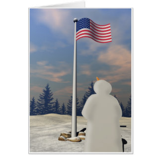 Stars & Stripes Greeting Card