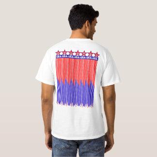 Stars & Stripes PostCard  USA - Men's T Shirt -