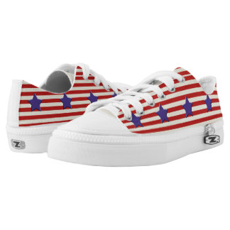 Stars & Stripes shoes - American Flag - USA Printed Shoes