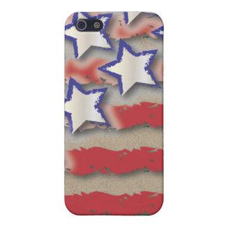 Stars & Stripes USA Flag Red White Blue iPhone 5 Case