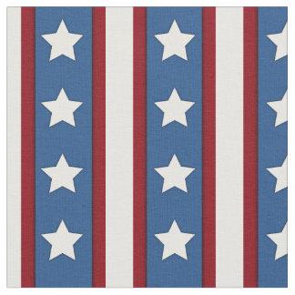 Stars & Stripes vertical red white blue