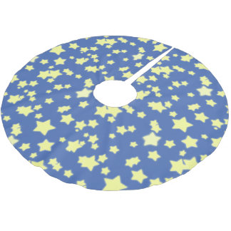 STARS Tree Skirt blue