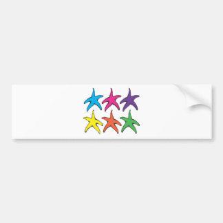 Starsfishes Bumper Sticker