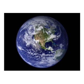 Starship Earth Postcard