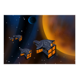 Starship  Poster