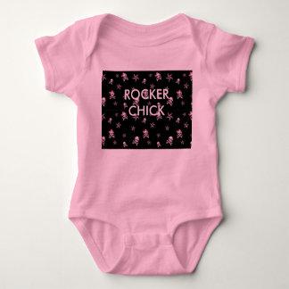 starsnskulls, ROCKER CHICK Baby Bodysuit