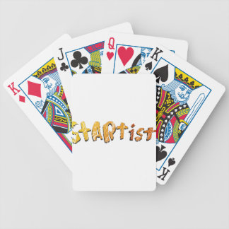 StArt1st  (Be the 1st to wear #YaWNMoWeR) Bicycle Playing Cards