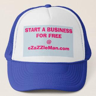 Start A Business For FREE @ eZaZZleMan.com Trucker Hat