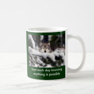 Start each day coffee mug