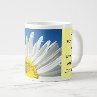 Start Each Day Mug Smile Dream a Friend Jumbo Mug