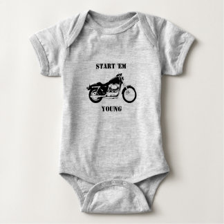 Start Em Young Baby Bodysuit