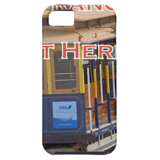 Start Here! San Francisco Cable Cars Trolley Cars iPhone 5 Cover