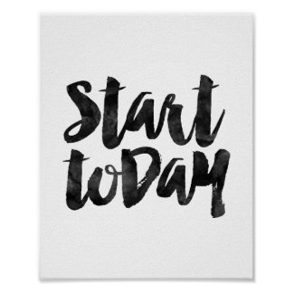 Start Today Poster