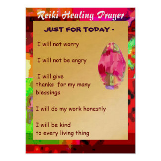 Start your day with Golden Words Poster
