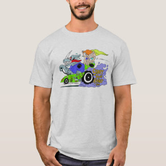 Start Your Rhino Racing Rat Fink T-Shirt