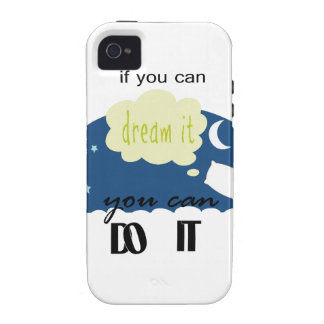 started with a dream iPhone 4/4S covers