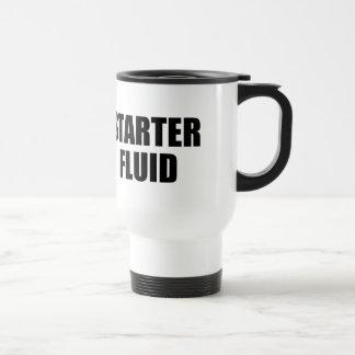 Starter Fluid Coffee Quote Coffee Mug