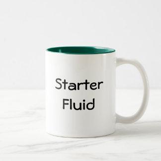 Starter Fluid Two-Tone Mug