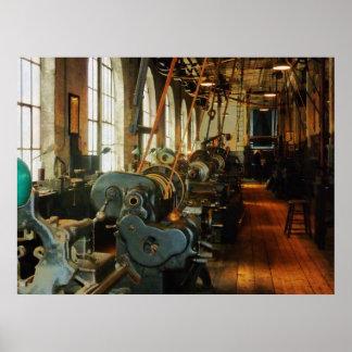 STARTING UNDER 20 - Heavy Machine Shop Print