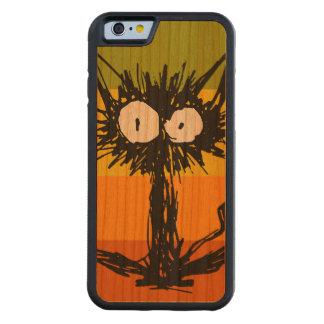 Startle Cat Orange Colourful Carved Cherry iPhone 6 Bumper Case