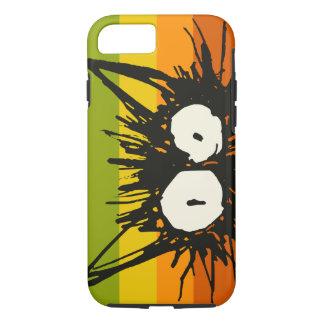 Startle Cat Orange Colourful iPhone 7 Case