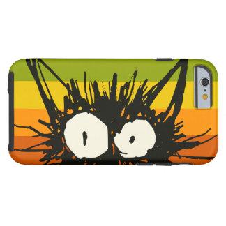Startle Cat Orange Colourful Tough iPhone 6 Case
