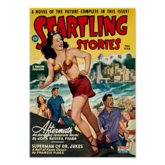 Startling Stories -- Aftermath Poster