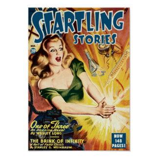 Startling Stories -- One of Three Poster