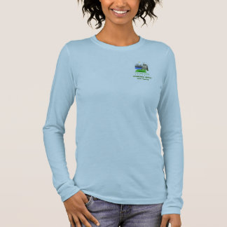 Starving Artist Bootcamp Ladies Long Sleeve Fitted Long Sleeve T-Shirt