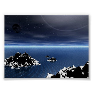 Stary Arctic Poster