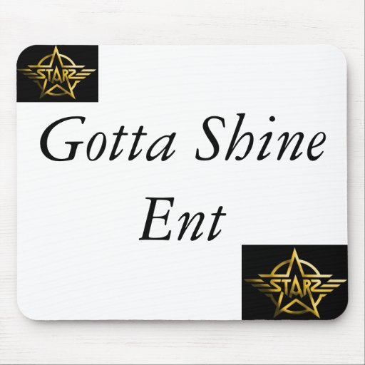 starz_logo, starz_logo, Gotta Shine Ent Mouse Mat
