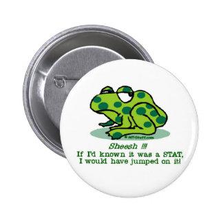 STAT Froggie Pinback Button
