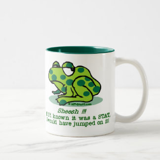 STAT Froggie Coffee Mugs