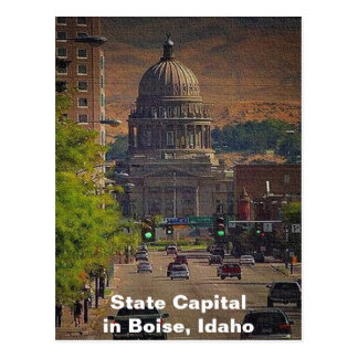 State Capital in Boise, Idaho Postcard