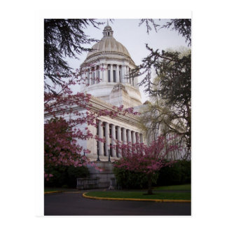 State Capitol Building in Olympia, WA Postcard