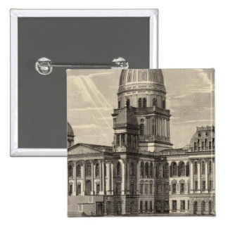 State Capitol building Springfield Ill Pins