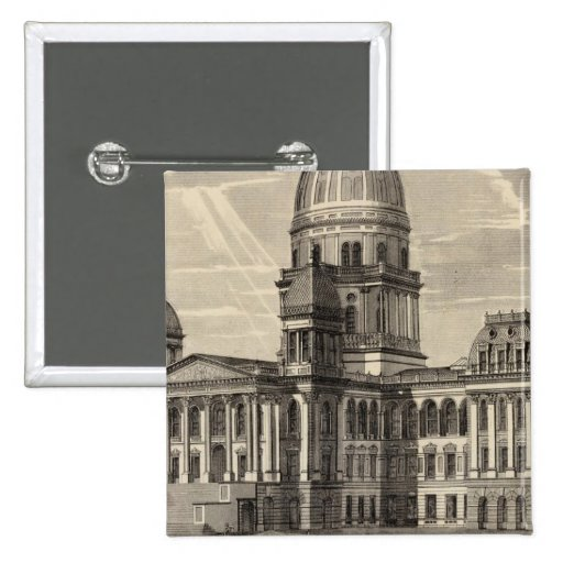 State Capitol building, Springfield, Ill Pins