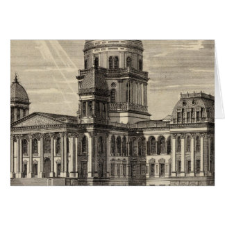 State Capitol building, Springfield, Ill Greeting Card