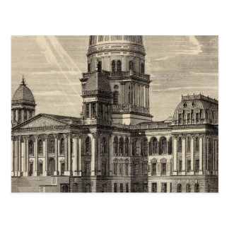 State Capitol building, Springfield, Ill Postcard
